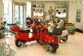 vespa scooters boutique Miami florida